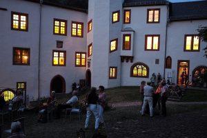 Lustwandeln auf Schloss Mildenburg Veranstaltung